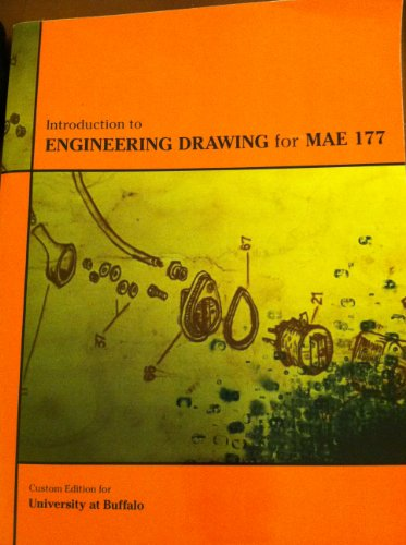 Title: INTRO.ENGINEERING DRAWING MAE CUSTOM: Giesecke, Frederick E.