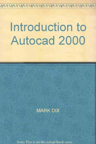 9780536129840: Introduction to Autocad 2000