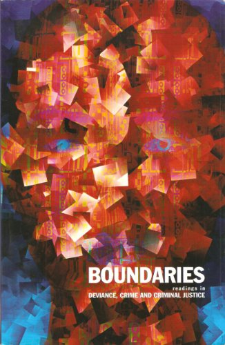 9780536136312: Boundaries- Readings in Deviance, Crime and Criminal Justice- A Customized Reader