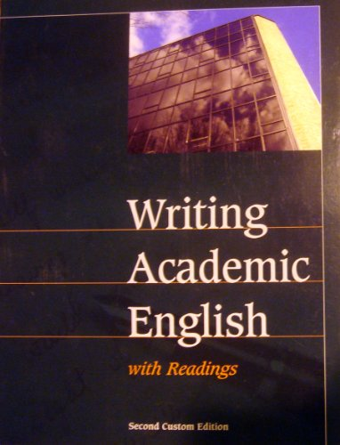Writing Academic English with Readings: Ann Hogue Alice