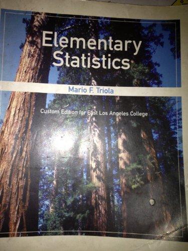 9780536139368: Elementary Statistics(paperback)