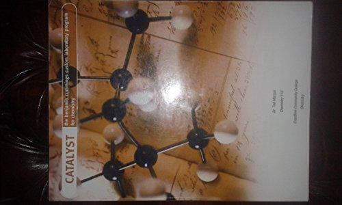 9780536145147: Catalyst The Benjamin Cummings Custom Laborator Program for Chemistry