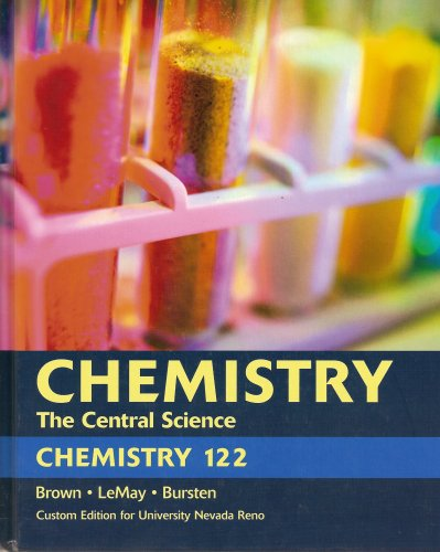 9780536149800: Catalyst; Laboratory Manual for Chemistry 121 Laboratory Experiments to Accompany Chemistry: The Central Science University of Nevada, Reno