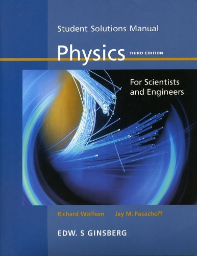 9780536170101: Student Solutions Manual: Physics for Scientists and Engineers