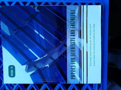 9780536170262: Physics for Scientists and Engineers (Custom Edition for University of California, San Diego, Volume
