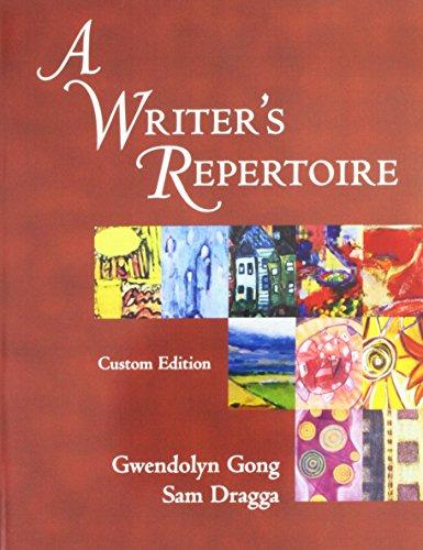 9780536173980: WRITERS REPERTOIRE