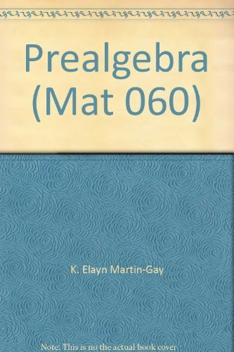 9780536177490: Prealgebra (Mat 060)