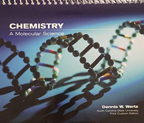 9780536181657: Chemistry A Molecular Science