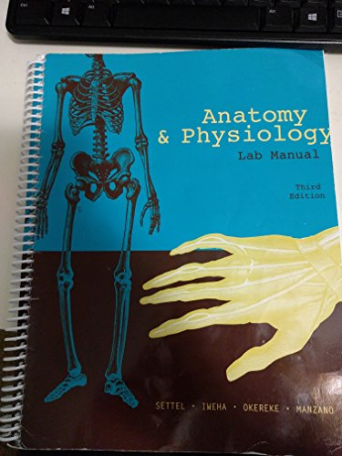9780536182210: Anatomy & Physiology Laboratory Manual, Third Edition, Baltimore City Community College