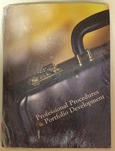 9780536204431: Professional Procedures and Portfolio Development Custom ITT Technical Institute