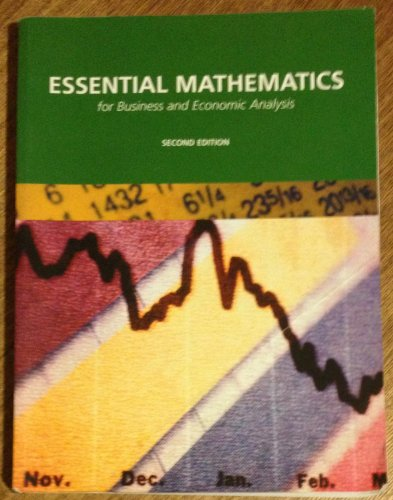 9780536208118: Essential Mathematics for Business and Economic Analysis