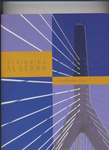 9780536208729: Beginning Algebra (Author: Tobey and Slater)