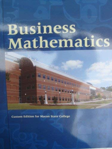 business mathematics gary clendenen pdf