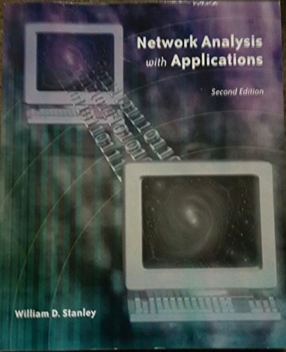 9780536219268: Network Analysis with Applications