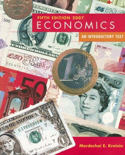 9780536219381: Economics: An Introductory Text (5th Edition)