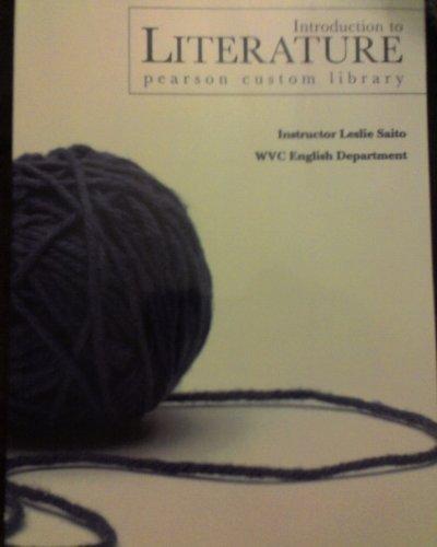 Introduction to Literature: Leslie Saito