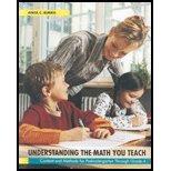 9780536234681: Understanding the Math You Teach