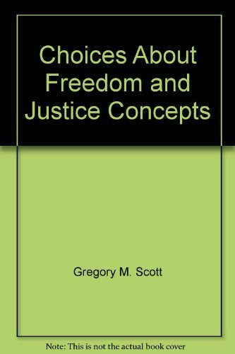 9780536246653: Choices About Freedom and Justice Concepts
