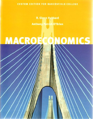 9780536254603: Macroeconomics (Custom Edition for Bakersfield Colleges)