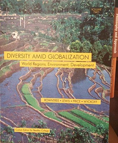9780536258779: Diversity Amid Globalization - World Regions, Environment, Development (Vol 2, Reedley College Custom Editon)