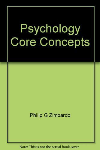 9780536258939: Psychology: Core Concepts