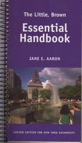 9780536260758: The Little, Brown Essential Handbook Custom Edition for New York University