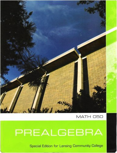 Math 050 Prealgebra (Special Edition for Lansing: Blair, James