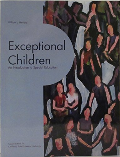 9780536268105: Exceptional Children: An Introduction to Special Education (with CD ROM)