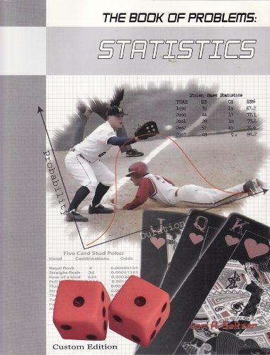 9780536278104: Statistics (The Book of Problems Series)