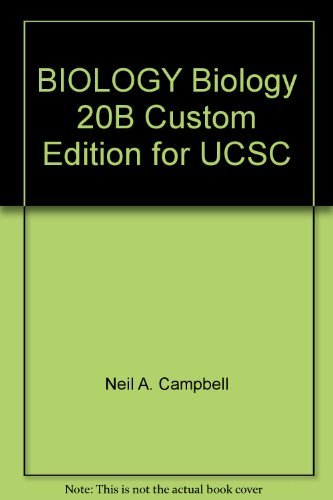 9780536278173: BIOLOGY Biology 20B Custom Edition for UCSC