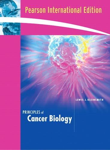 9780536279606: Principles of Cancer Biology (Custom for the University of Massachusetts)