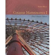 9780536280770: College Mathematics 1 and Student Solutions Manual (Custom Package)
