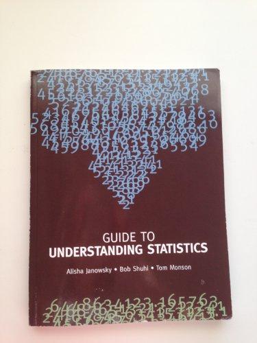 9780536294210: Guide to Understanding Statistics