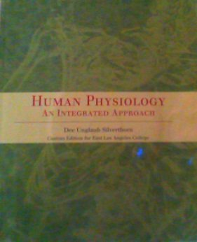 9780536294357: Human Physiology-An Integrated Approach (East Los Angeles College Custom Edition)