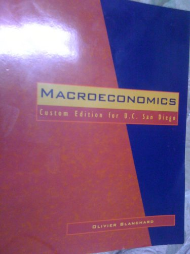 9780536294579: MACROECONOMICS (CUSTOM EDITION FOR U.C. SAN DIEGO)