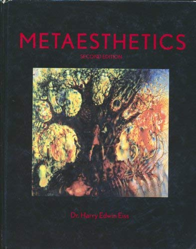 9780536295187: Metaesthetics (2nd edition)