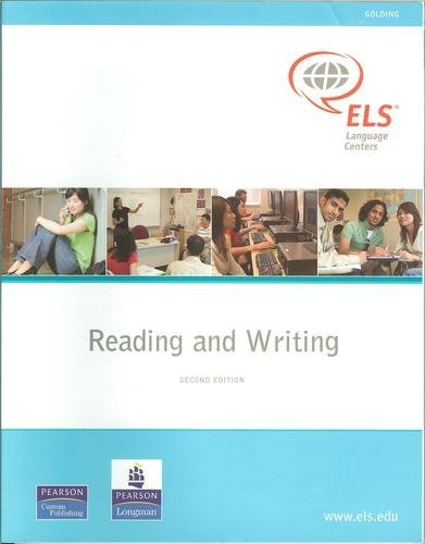9780536299864: Reading and Writing (Huxley), 2nd Edition