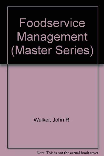 9780536307866: Foodservice Management (Master Series)