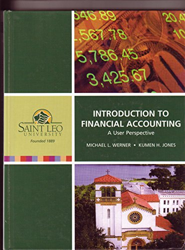 9780536312549: Introduction to Financial Accounting A User Perspective