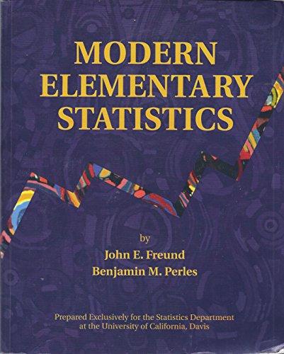 9780536315199: Modern Elementary Statistics