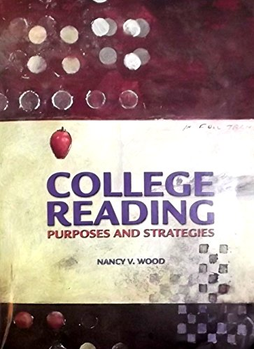 9780536324184: College Reading: Purposes and Strategies