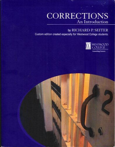 Corrections An Introduction: Richard P. Seiter