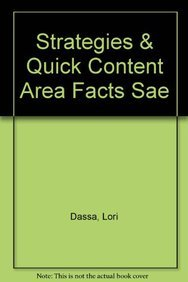 9780536336200: Strategies & Quick Content Area Facts SAE