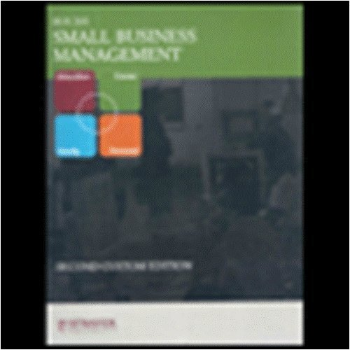 Small Business Management (Strayer University) (Bus 205): Norman M. Scarborough