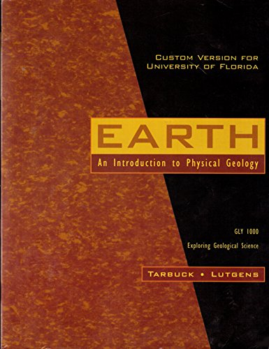 9780536345424: EARTH an Introduction to Physical Geology (GLY 1000 Exploring Geological Science)