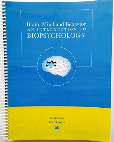 9780536352057: Brain, Mind and Behavior: An Introduction to Biopsychology