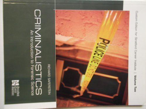 9780536353078: Criminalistics - An Introduction to Forensic Science - Volume 2