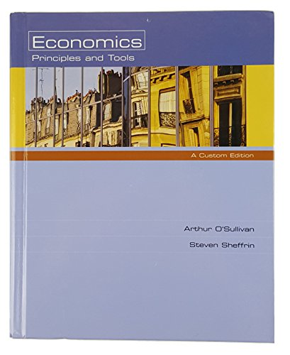 9780536353498: Economics Principles and Tools 4th Edition 2006