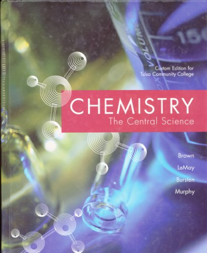 9780536366986: Chemistry the Central Science (Custom Edition for Tulsa Community College)