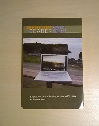 9780536372451: Mercury Reader English 103